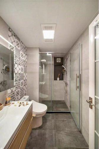 120平米三室一厅北欧风格卫生间设计图