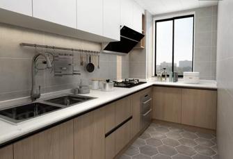 90平米一居室北欧风格厨房装修图片大全
