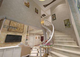 5-10万140平米别墅欧式风格楼梯装修图片大全