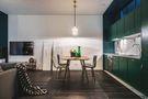 130平米三室两厅混搭风格餐厅图片