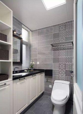 140平米四室一厅美式风格卫生间图片大全