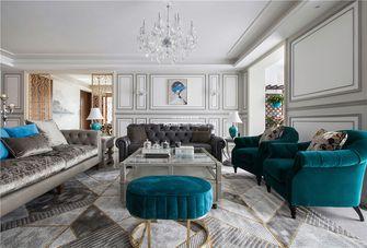 140平米复式欧式风格客厅图片