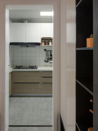 90平米北欧风格厨房效果图