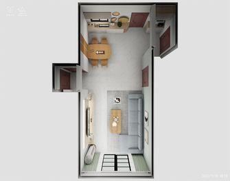 5-10万110平米三室两厅北欧风格客厅装修图片大全