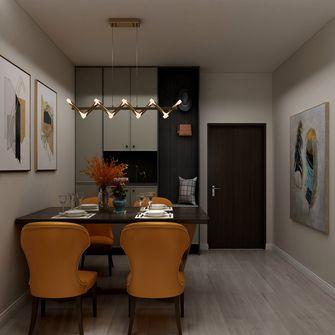 80平米现代简约风格餐厅装修图片大全