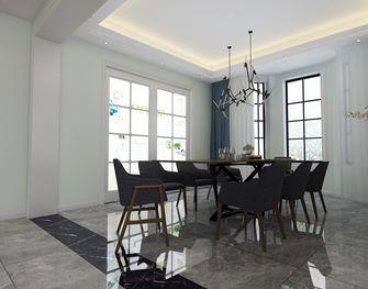 140平米别墅北欧风格餐厅装修效果图