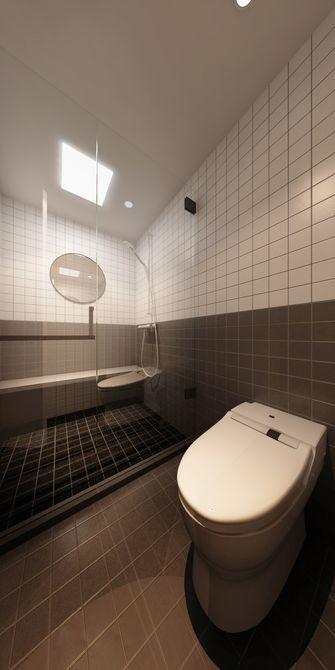 140平米复式日式风格卫生间欣赏图