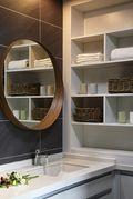 140平米三室两厅北欧风格储藏室装修案例