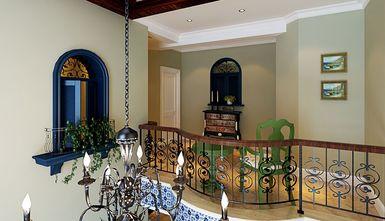 豪华型140平米别墅混搭风格楼梯设计图