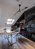 20万以上140平米别墅法式风格书房装修案例
