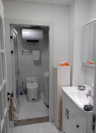 60平米一室一厅北欧风格卫生间欣赏图