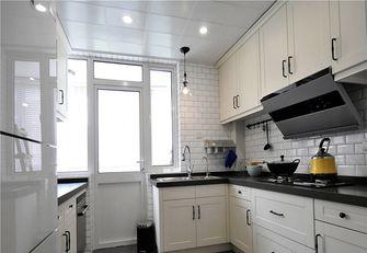 80平米美式风格厨房效果图