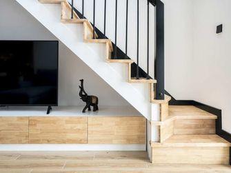 140平米四北欧风格楼梯间效果图