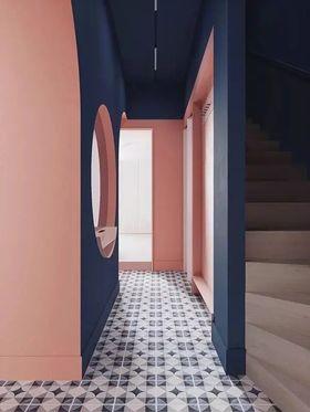 100平米混搭風格樓梯間圖片大全