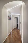 60平米一居室混搭风格走廊效果图