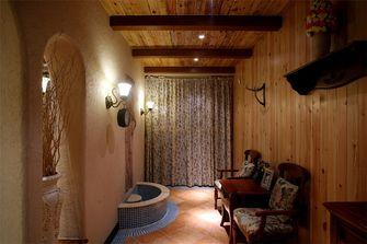 140平米三室一厅地中海风格影音室欣赏图