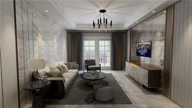 130平米四室一厅现代简约风格客厅图片大全