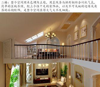 豪华型140平米复式新古典风格阁楼装修图片大全
