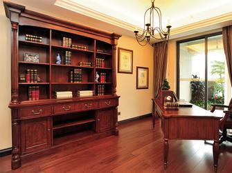 130平米四室两厅地中海风格书房装修案例