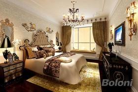 140平米復式歐式風格臥室裝修圖片大全