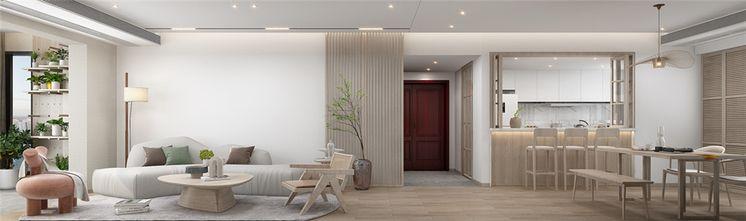 140平米四室三厅日式风格客厅欣赏图
