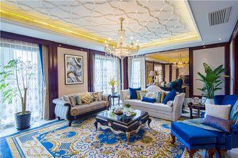 豪华型140平米四室三厅新古典风格客厅图片