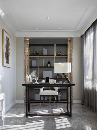 120平米三室两厅欧式风格书房欣赏图