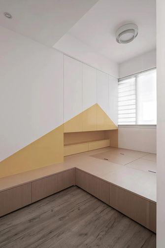 80平米三室两厅现代简约风格儿童房效果图