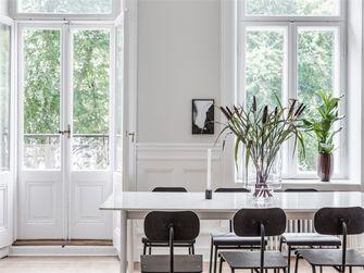 120平米三室两厅田园风格客厅装修案例