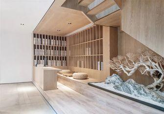 90平米别墅日式风格书房图