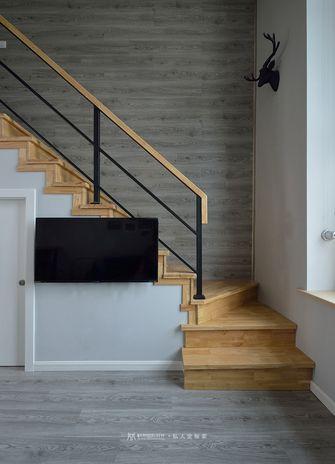90平米复式现代简约风格楼梯间设计图