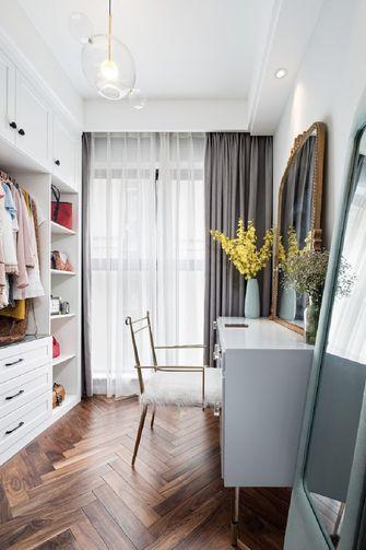 60平米一室一厅北欧风格衣帽间图