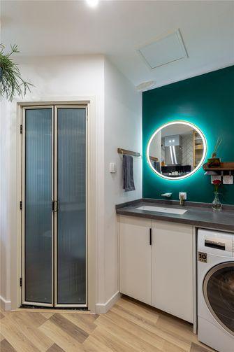 50平米公寓日式风格卫生间设计图