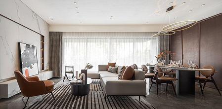 110平米三北欧风格客厅装修案例