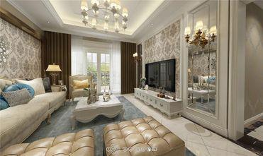 90平米三室两厅新古典风格客厅设计图
