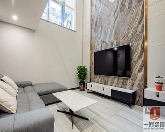140平米三室一厅宜家风格客厅图
