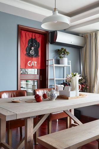60平米一居室混搭风格客厅装修效果图