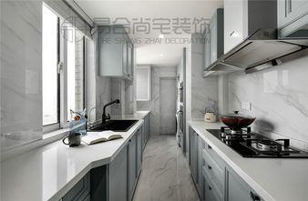 140平米三室两厅美式风格厨房图片大全