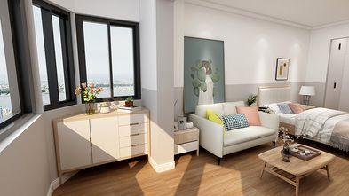 50平米一室一厅北欧风格阳台设计图