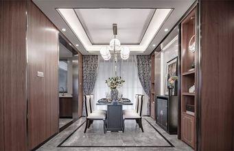 110平米三室一厅中式风格餐厅欣赏图