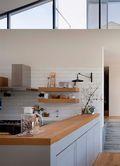90平米英伦风格厨房装修图片大全