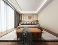 130平米三室两厅田园风格卧室装修图片大全