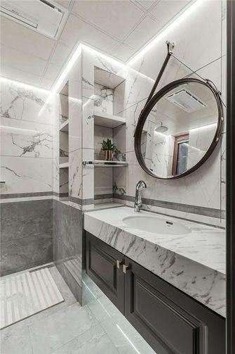 90平米三室一厅新古典风格卫生间装修效果图