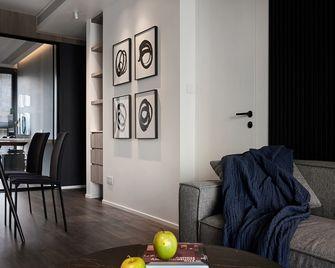 130平米三室一厅现代简约风格餐厅图片大全