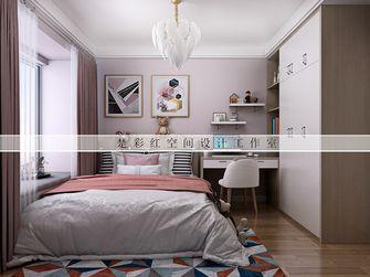 110平米三室两厅现代简约风格卧室图