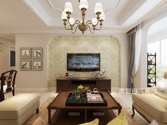 120平米美式风格客厅图片