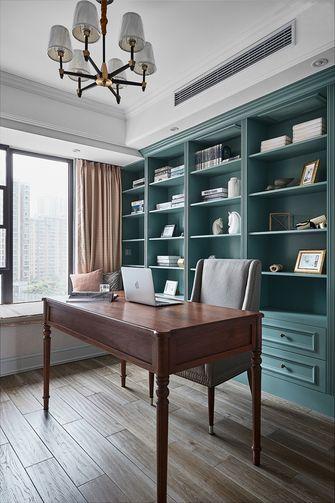 130平米四室两厅美式风格书房图片大全