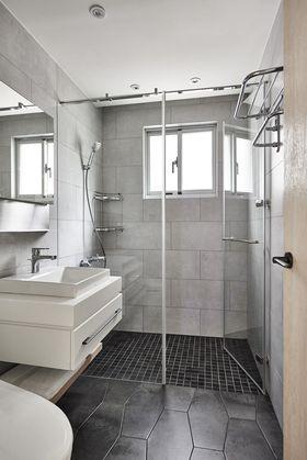 70平米現代簡約風格衛生間設計圖