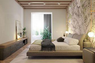 80平米东南亚风格卧室图片