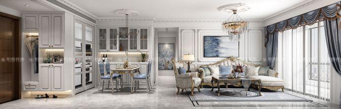 120平米四室两厅法式风格餐厅欣赏图